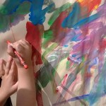 painting at easel 2